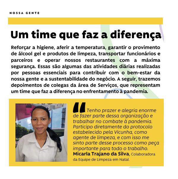 #NossaGente - Um time que faz a diferença